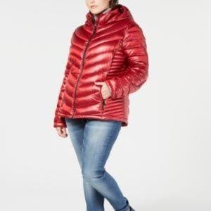 !FLASH SALE! Calvin Klein Hooded Packable Puffer